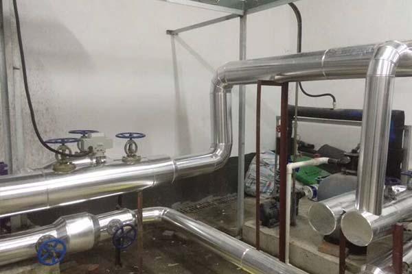 南充服装厂蒸汽管道保温
