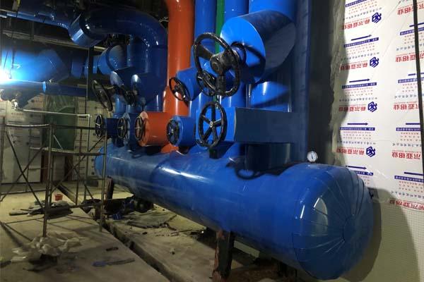 空调制冷机房管道保温